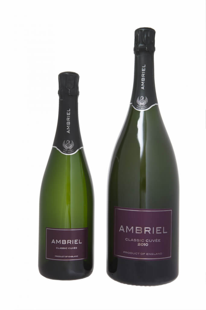 Ambriel Magnum of classic cuvee bottle